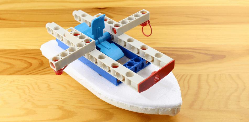 Kosmos Technik Baukasten Boot